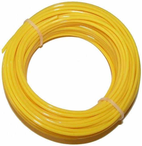 Ø Faden = 2,0 mm Nylonfaden L Farbe = Gelb Faden = 15 m